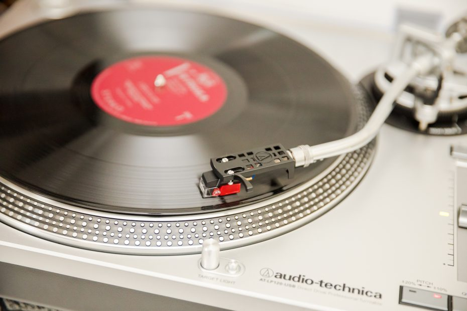 The official turntable of None So Vinyl
