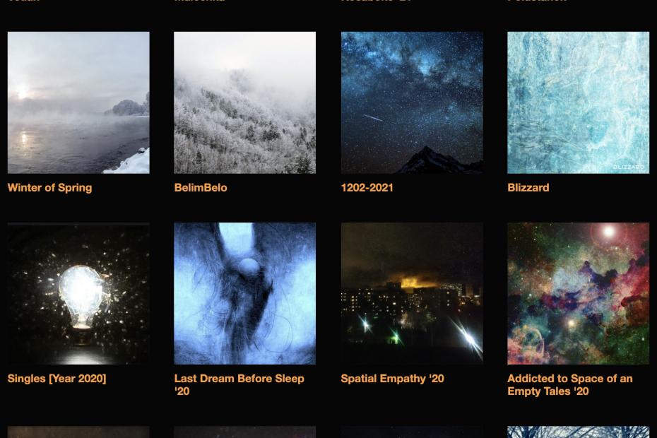 Album covers for S.V.Sh